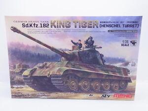 LOT-46908-Meng-TS-031-Sd-Kfz-182-King-Tiger-German-Tank-1-35-Bausatz-NEU-OVP