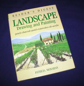 Landscape-Drawing-and-Painting-by-Patricia-Monahan-1998-Hardcover