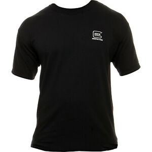 Glock Perfection, Short Sleeve, L, Black T-Shirt Aa11001 New