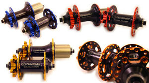 Talisman-DC4-Dual-Ano-6-Pawl-Disc-MTB-Hub-Set-428g-QR-Shimano-or-SRAM-XD