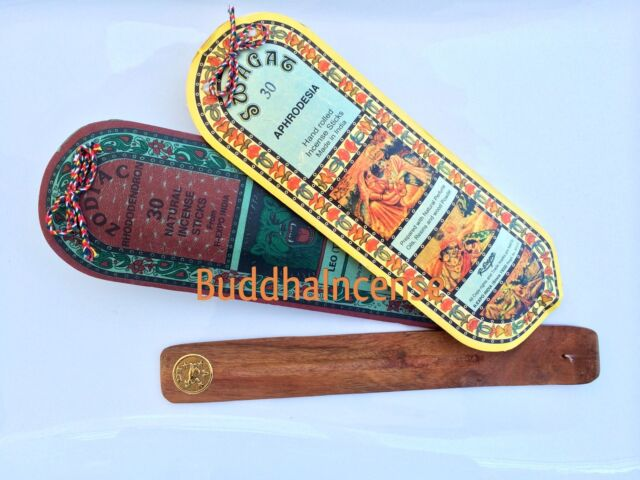 Leo Zodiac Incense + Swagat Aphrodesia +  Incense Burner