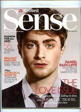 DANIEL RADCLIFFE - UK NATWEST SENSE MAGAZINE - NEW YEAR ISSUE 2012