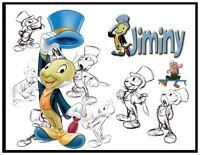 Jiminy Cricket Fridge Magnet Logo 3. 4 X 5. Disney Cartoons.....free Shipping
