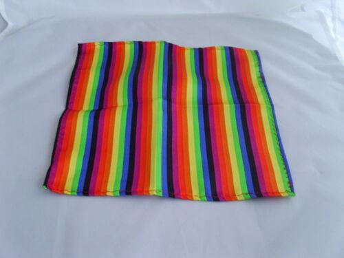 """Multi-Rainbow Corbata Para Hombre ajustados Sedoso /& Pañuelo Set-2.5/"""" ancho /> más ubuy /> más usave"""