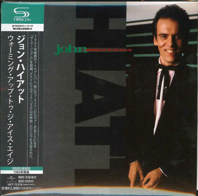 JOHN HIATT-WARMING UP TO THE ICE AGE-JAPAN MINI LP SHM-CD G00