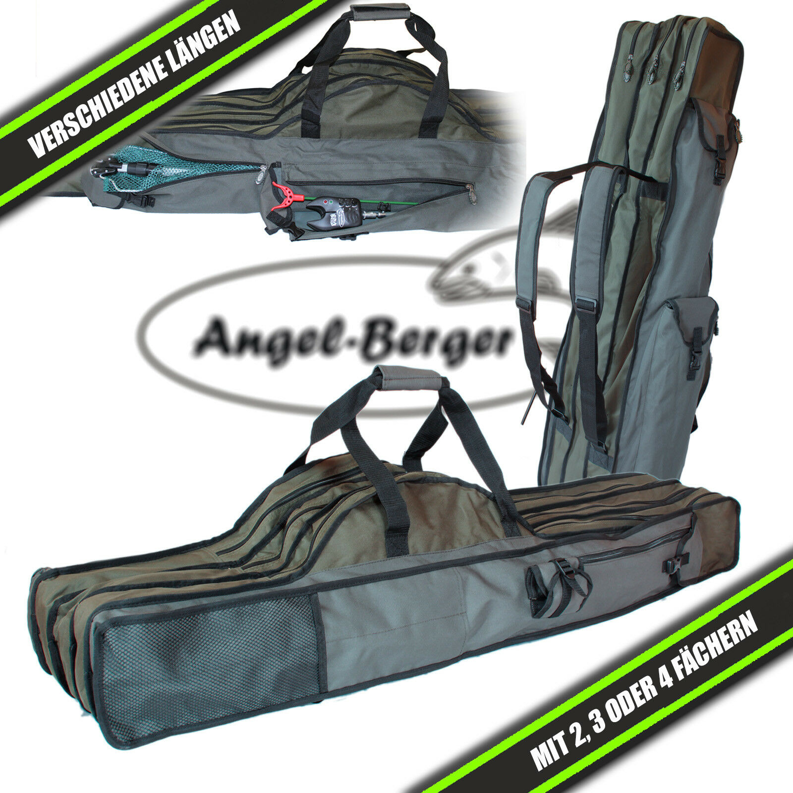 Luxus Rutentasche Rutenfutteral Angeltasche Rod Bag Bag Bag 15e579