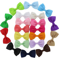 QingHan Little Girls' Hair Bows BB Clips Barrettes (2.7 inches)
