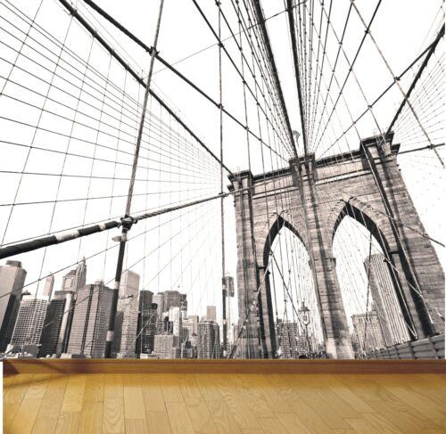New York Brooklyn bridge photo wallpaper mural design style 1 wm431