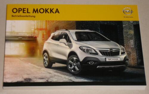 Manuale di istruzioni manuale Opel Moka a partire da anno di costruzione 2012
