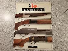 HECKLER & KOCH HK Fabarm Shotguns Catalog 1998