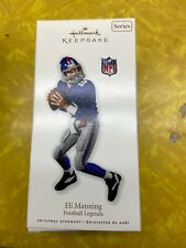QX8423 Football Legends 16th Eli Manning 2010 Hallmark Keepsake Ornament