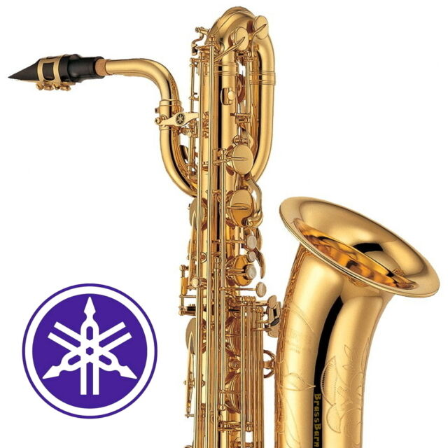 yamaha ybs 41 02 intermediate baritone saxophone brassbarn ebay. Black Bedroom Furniture Sets. Home Design Ideas