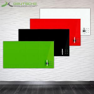 glas glasboard magnettafel magnetwand board memoboard whiteboard schreibtafel ebay. Black Bedroom Furniture Sets. Home Design Ideas