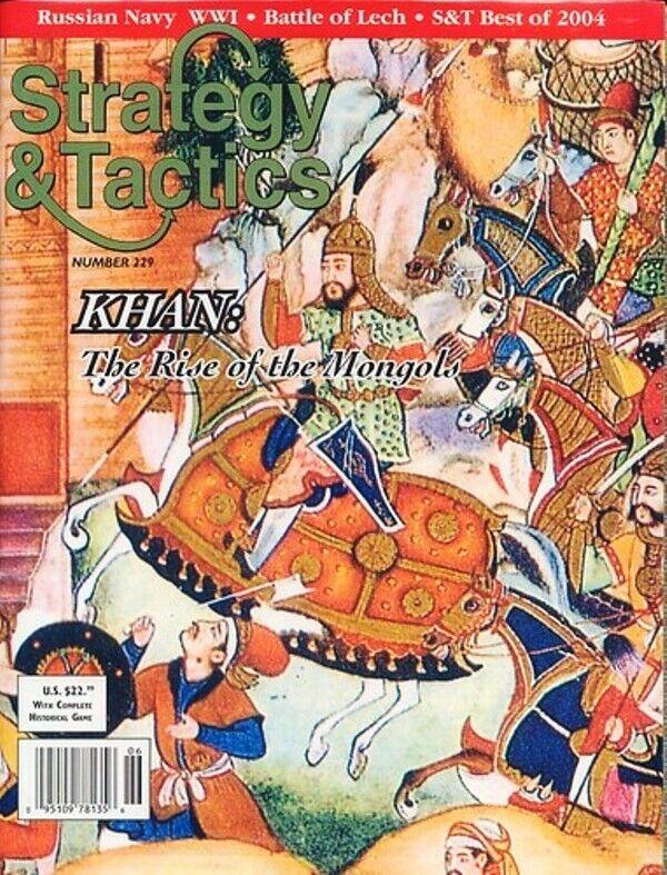 mejor calidad Nuevo, estrategia y y y tácticas, S&t  229 Khan  el ascenso de los mongoles, arriba  Venta al por mayor barato y de alta calidad.