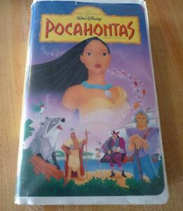 VHS-French-Movie-Pocahontas-Walt-Disney-Classic