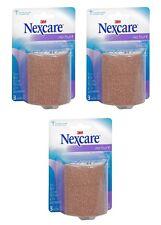 3 Pack - Nexcare Coban Self-Adhering Wrap, 3 in X 5 Yd. Roll in Each