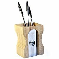 Suck Uk Pencil Sharpener Desk Tidy - Natural , New, Free Shipping on sale