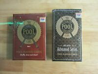 Ultimate Pool Challenge Playing Card Game Series 1 & Advanced Series Combo