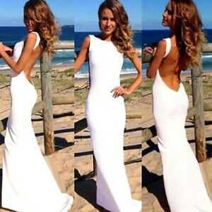 36a3e6f713 Sexy Women Dress Prom Ball Cocktail Party Dress Formal Evening ...