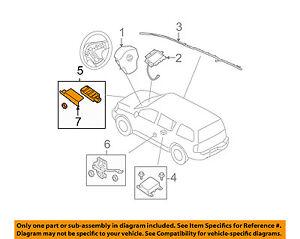 nissan oem airbag air bag srs front impact sensor 98581zt08a ebay rh ebay com Air Bag Suspension Plumbing Diagram Air Bag Suspension Compressor Switch Diagram