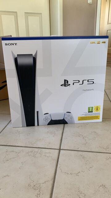 Sony PlayStation 5 PS5 Blu-Ray/Disc Edition Spielekonsole - Weiß