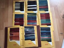 Huge Set Toyota Forklift Microfiche 1f Thru 7f Late 80s Into 2000s Over 100 Sets