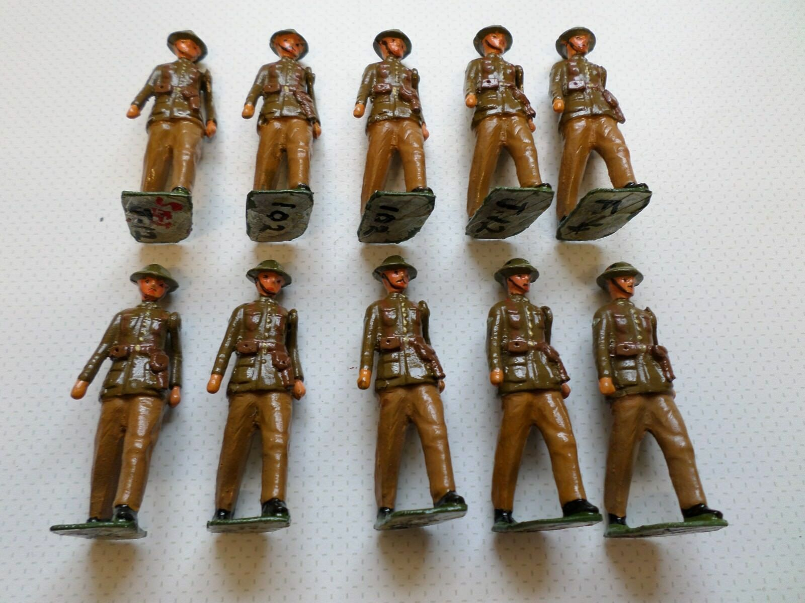 Bastion WW1 British Tank Corps hand painted white metal soldiers