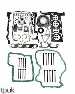 Ford-Transit-completo-motor-de-cabeza-Junta-conjunto-Manivela-Sellos-Cabeza-Pernos-2-4-2006-sobre