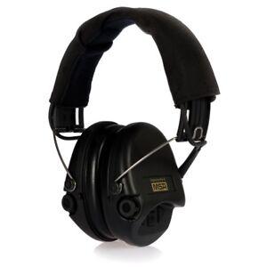 Sordin-Supreme-Par-X-Protection-auditive-avec-Oreiller-de-tissu-AUX-noir-Kopfb