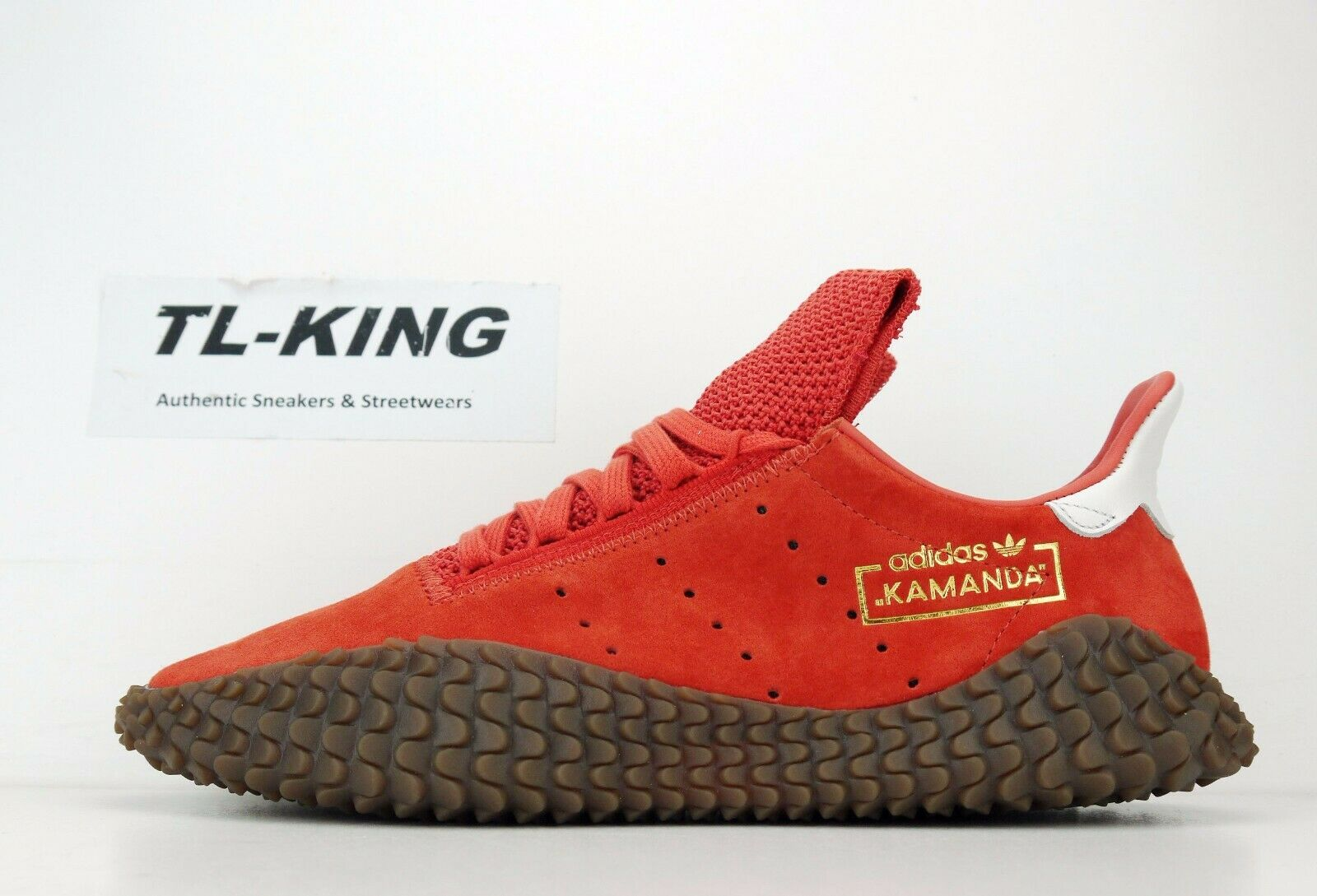 ccf11f48aa Adidas Originals Kamanda 01 Rust orange gold Gum DB2776 ET Raw Amber ...
