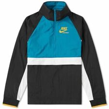 f77376ee4b54 item 1 Nike MEN S Archive Half Zip Jacket Black Blustery Teal 921743 010 SZ  2XL -Nike MEN S Archive Half Zip Jacket Black Blustery Teal 921743 010 SZ  2XL