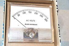 ALLIED ELECTRONICS NIB NEW 701-0450 PANEL METER 0-300 AC volts