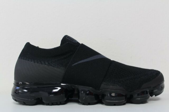 new products 5047d c3664 Nike Womens Air Vapormax Flyknit Moc Triple Black AA4155-004 Size 9.5