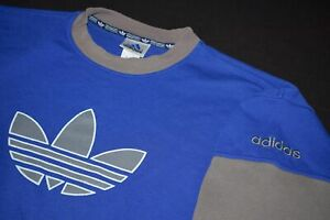 Details zu Adidas Pullover Pulli Sweater Sweat Shirt Top Sport Jumper Vintage 90s Trefoil L