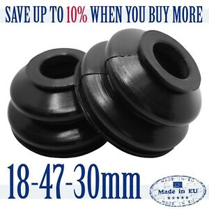 2-X-High-Quality-Rubber-Dust-Cover-18-47-30-Track-Rod-End-Ball-Joint-Dust-Boots