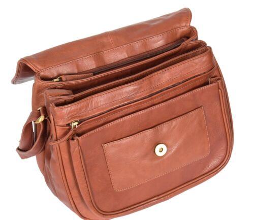 marron jour en souple à sac sac bandoulière femme à pour bandoulière Grand cuir classique fRXOwqq