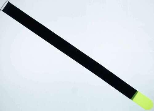 10 x Klett Kabelbinder 800 x 50 mm neongelb Kabelklettband Kabelklett Klettband