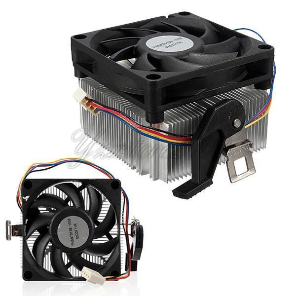 New Heatsink CPU Cooling Fan For AMD Socket 4Pins AM2 AM3 754 939 1A02C3W00 95W
