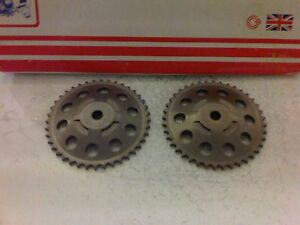 VAUXHALL-CORSA-C-1-0-1-2-1-4-PETROL-2000-2010-2x-NEW-TIMING-CHAIN-CAM-SPROCKETS