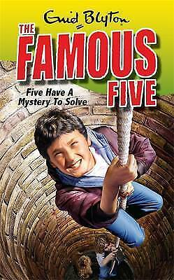 Five Have A Mystery To Solve: Book 20 (Famous Five), Blyton, Enid, Good Book