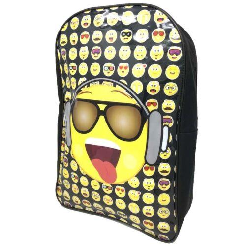 Emoji avec lunettes et Casque Arc Sac À Dos