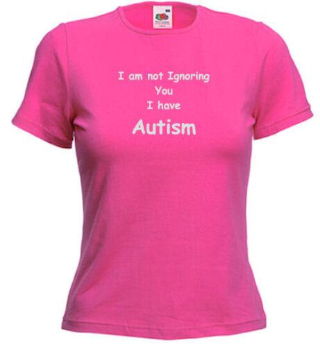 io non ignorarti ho Autismo Autismo LADY TEE