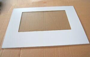 Indesit Oven Door Glass White C00034407