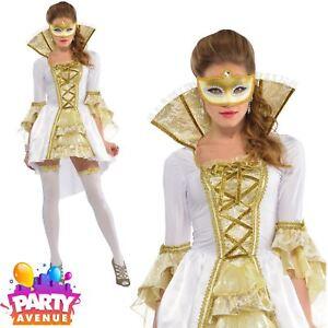Venetian-Costume-Venezia-Baroque-Masquerade-Ladies-Historical-Fancy-Dress-Womens