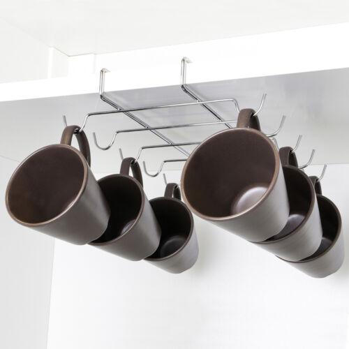 gobelets UPP tasses support sous armoire-support chromépour jusqu/'à 10 tasses