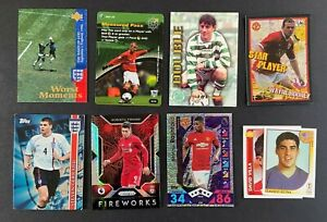 Job Lot of Football Cards and Stickers - 9 Cards