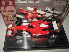1:18 ferrari f248 m. schumacher 2006 imola gp all time polos j2989 mattel OVP New
