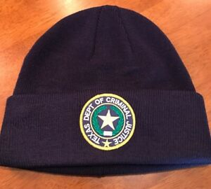 Details about Texas Department Of Criminal Justice Beanie Watch Cap NEW