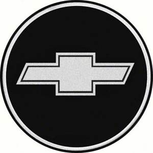 2 1 2 Iroc Wheel Center Cap Emblem Chrome Bow Tie Logo On A Black Background Ebay