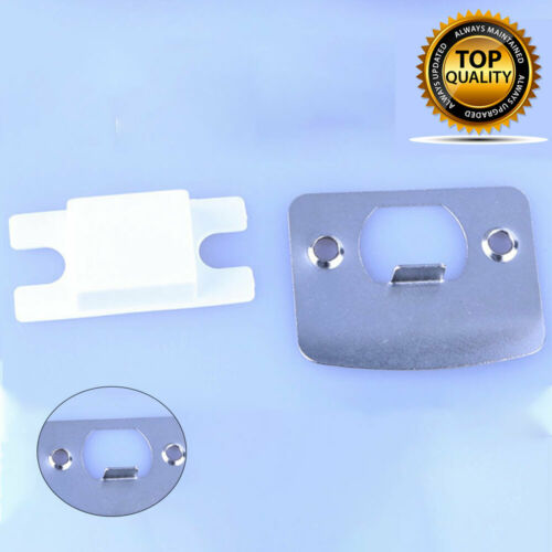Strike Plate Door Stainless Steel Latch Plates D Shaped Mortice New  AU